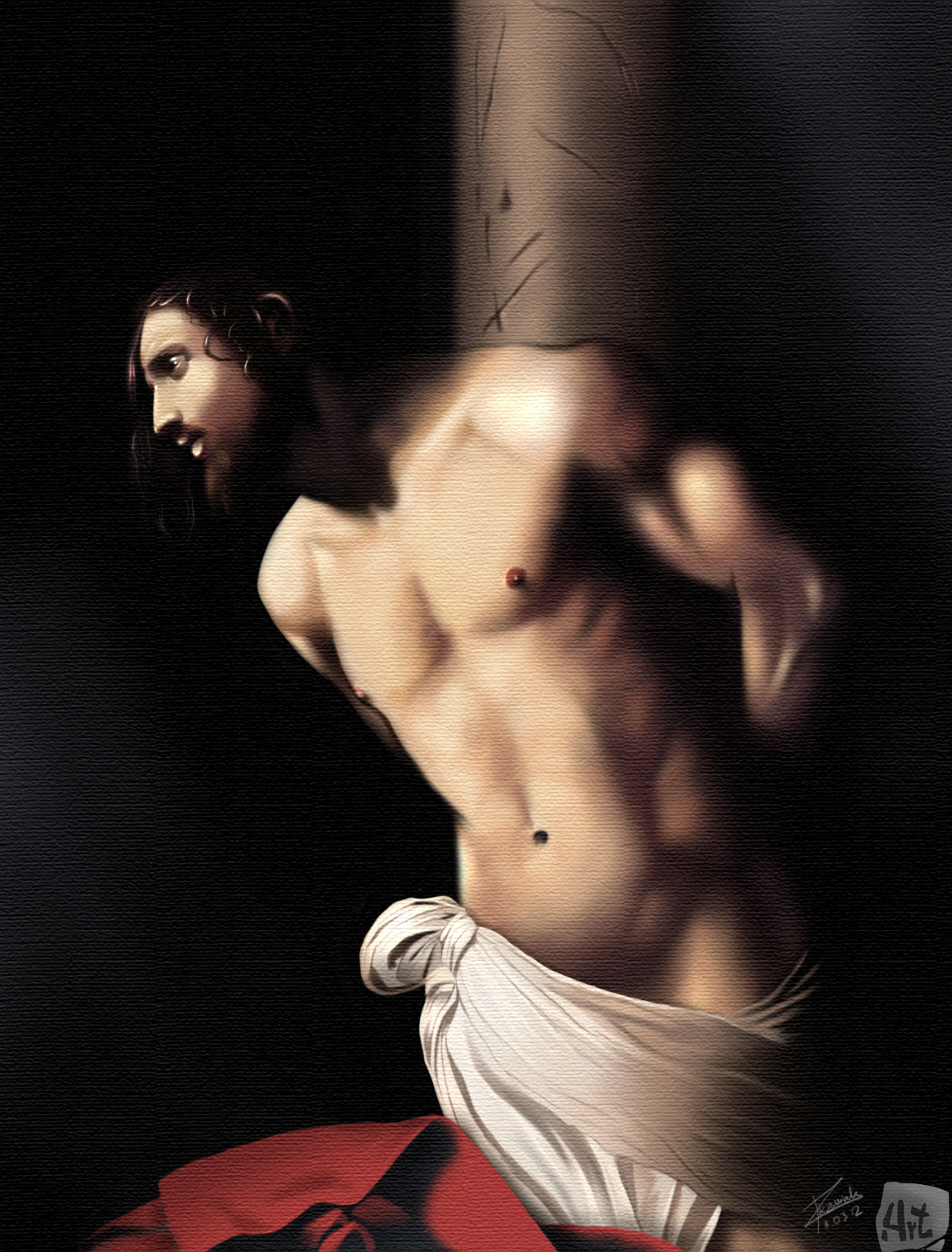 caravaggio__flagellation_of_christ_by_4rtist-d4sjt1s