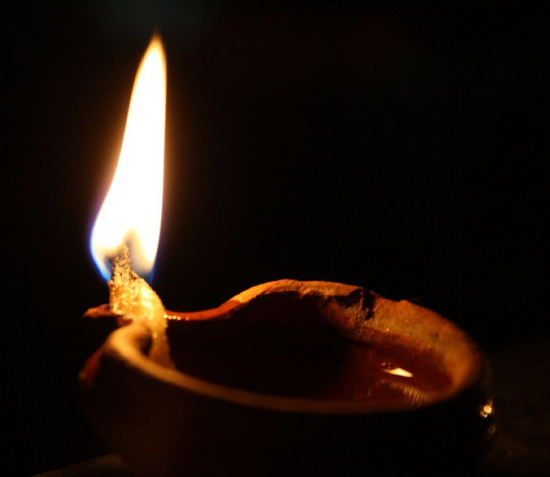 Animated Burning Lamp Oil : Catholic men s daily devotional th week in ordinary