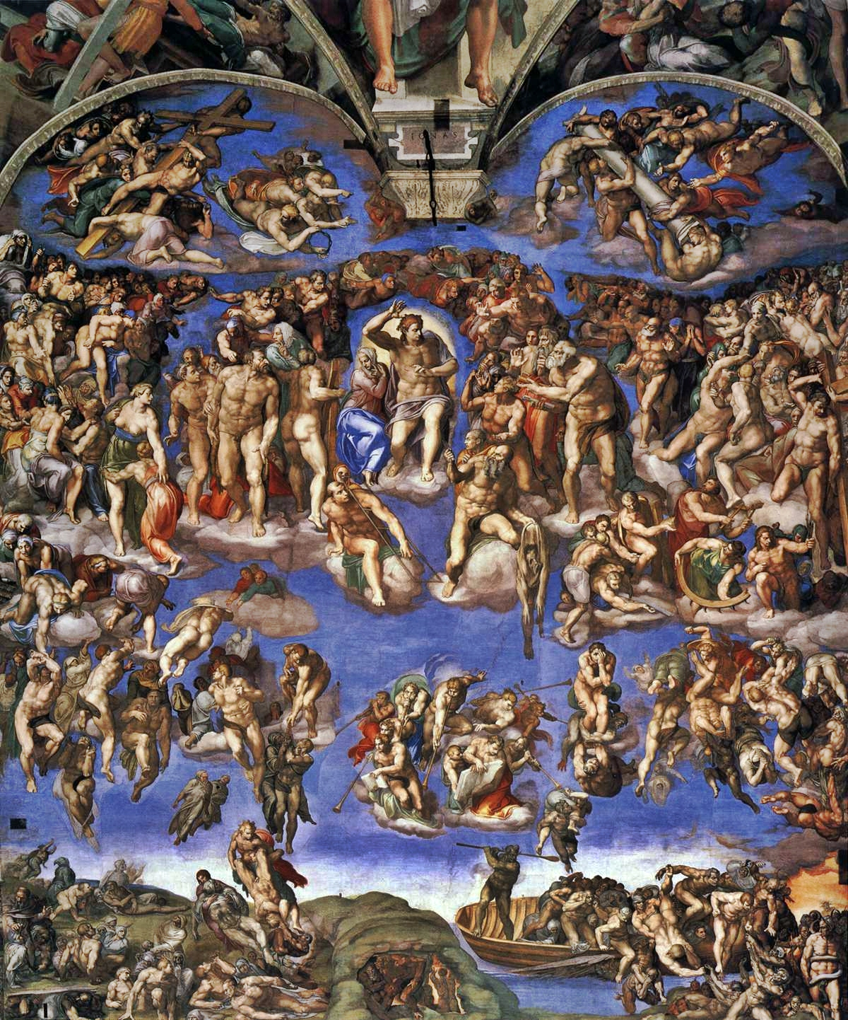 the-last-judgment-by-michelangelo